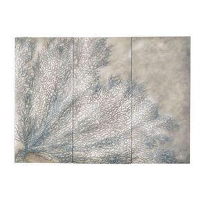 Tableau mural triptyque corail clair - Visuel n°3