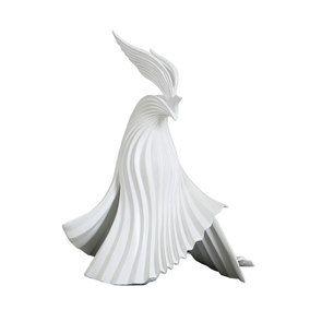Statue d'oiseau  façon origami - Visuel n°7