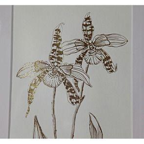 Tableau décoratif feuilles dorées (lot de 2) - Visuel n°3
