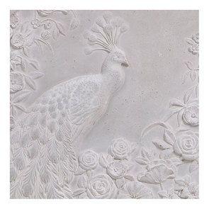 Panneau décoratif paon