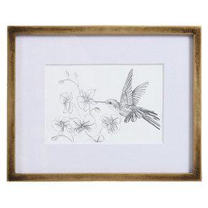 3 cadres oiseaux crayonnés - Visuel n°4