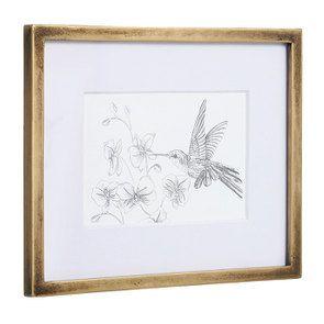 3 cadres oiseaux crayonnés - Visuel n°5