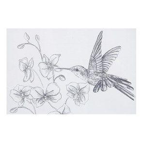 3 cadres oiseaux crayonnés - Visuel n°6