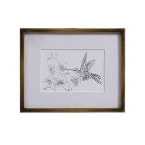 3 cadres oiseaux crayonnés - Visuel n°13