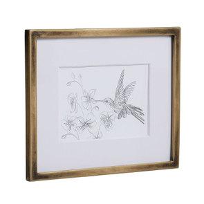 3 cadres oiseaux crayonnés - Visuel n°14