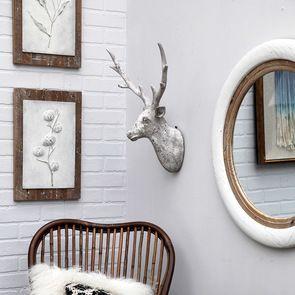Tête de cerf murale H59 cm - Visuel n°3