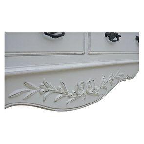 Commode blanche 14 tiroirs - Romance - Visuel n°6
