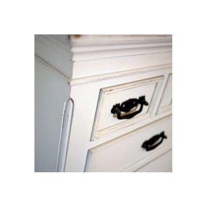 Commode chiffonnier blanche 7 tiroirs - Romance - Visuel n°5