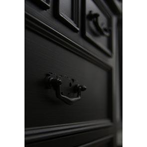 Commode semainier noire 7 tiroirs - Romance - Visuel n°6