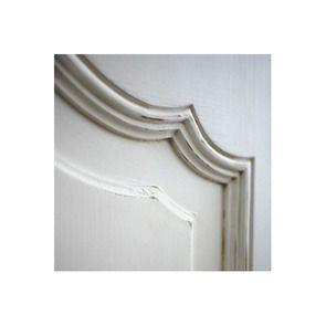 Armoire penderie bonnetière blanche 1 porte en bois - Romance - Visuel n°5