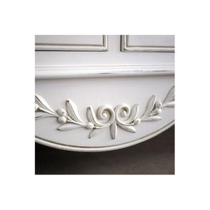 Buffet bas 2 portes 6 tiroirs en bois - Romance - Visuel n°5