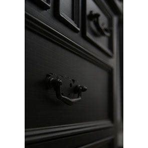 Commode noire 5 tiroirs - Romance - Visuel n°6