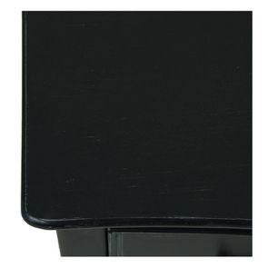 Commode galbée noire 3 tiroirs - Romance - Visuel n°3