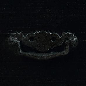 Commode galbée noire 3 tiroirs - Romance - Visuel n°12
