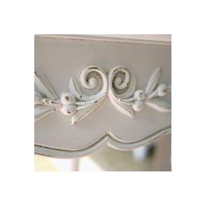 Console blanche 2 tiroirs - Romance - Visuel n°4
