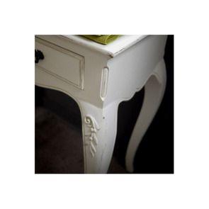 Console blanche 2 tiroirs - Romance - Visuel n°5