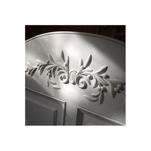 Lit 160x200 avec tiroirs en bois blanc vieilli - Romance - Visuel n°6