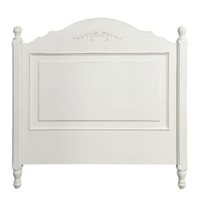Tête de lit blanche 90 cm - Romance