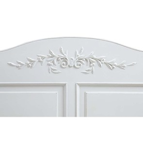 Lit 160x200 en bois blanc vieilli - Romance - Visuel n°6