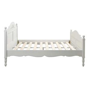 Lit 160x200 en bois blanc vieilli - Romance - Visuel n°11