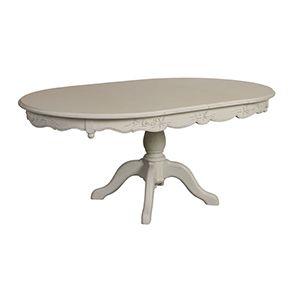 Table ronde extensible blanche 6 à 8 personnes - Romance - Visuel n°4