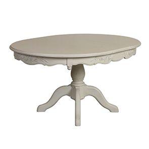 Table ronde extensible blanche 6 à 8 personnes - Romance - Visuel n°5