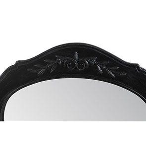 Miroir psyché noir en bois - Romance - Visuel n°8