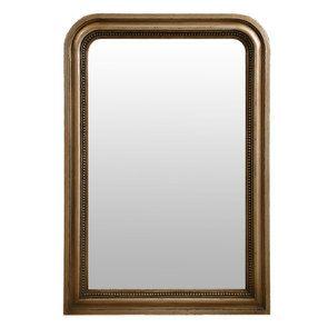 Miroir perlé doré - Les Miroirs d'Interior's