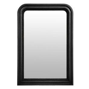 Miroir perlé noir - Les Miroirs d'Interior's