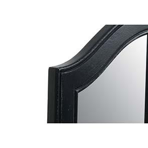 Miroir coiffeuse en bois noir - Romance - Visuel n°9