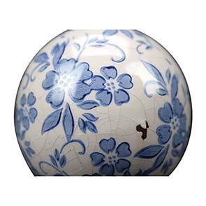 Boules en céramique motif floral (lot de 2) - Visuel n°3