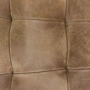 Chaise en cuir de buffle marron - Andrea