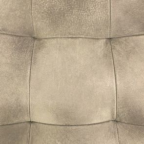 Chaise en cuir de buffle clair - Andrea