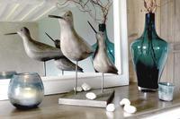 Oiseaux décoratifs en bois et résine - Visuel n°4