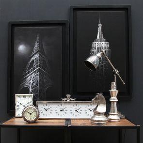Lampe articulée chromée - Visuel n°11