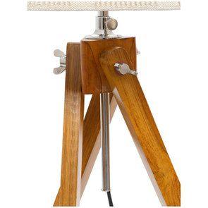 Lampadaire en bois H140 - Visuel n°8