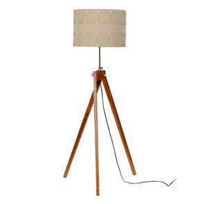 Lampadaire en bois H140 - Visuel n°1
