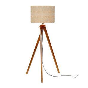 Lampadaire en bois H140 - Visuel n°4