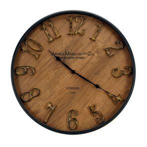 Horloge en bois d51