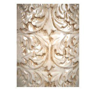Pot d'officine en céramique avec motifs en relief - Visuel n°4
