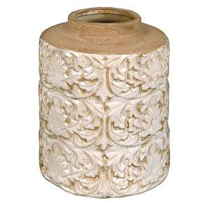 Pot d'officine en céramique avec motifs en relief - Visuel n°6