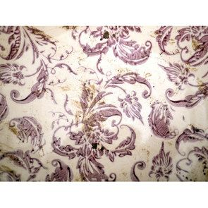 Plateau centre de table en terre cuite floral - Visuel n°6