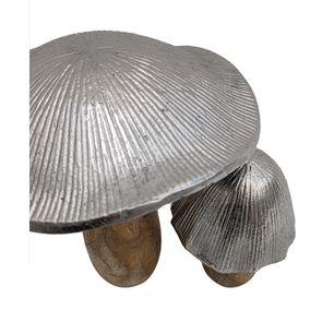 Duo champignons bois et métal - Visuel n°5