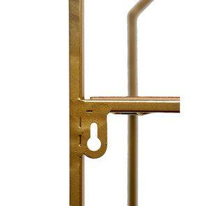Étagère en métal et bois à suspendre - Visuel n°6