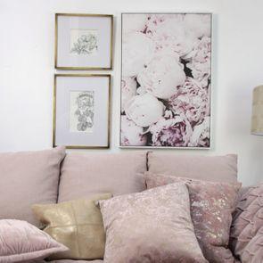 Toile décorative motif floral - Visuel n°3