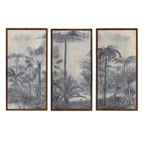 Triptyque XL motif jungle