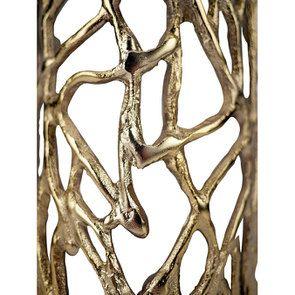 Photophore en métal laitonné - Visuel n°4