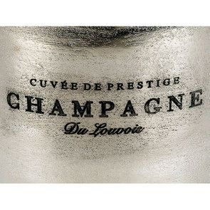 Seau à champagne métal chromé - Visuel n°13
