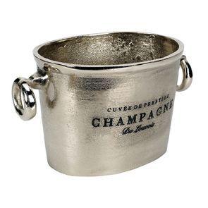 Seau à champagne métal chromé - Visuel n°12