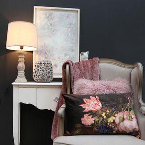 Tableau avec toile à motif fleurs - Visuel n°3